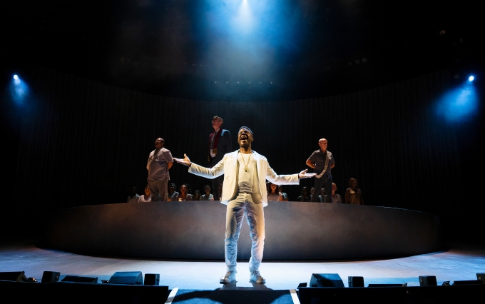 NT PUBLIC ACTS Ashley Zhangazha in Pericles at National Theatre (c) James Bellorini 11