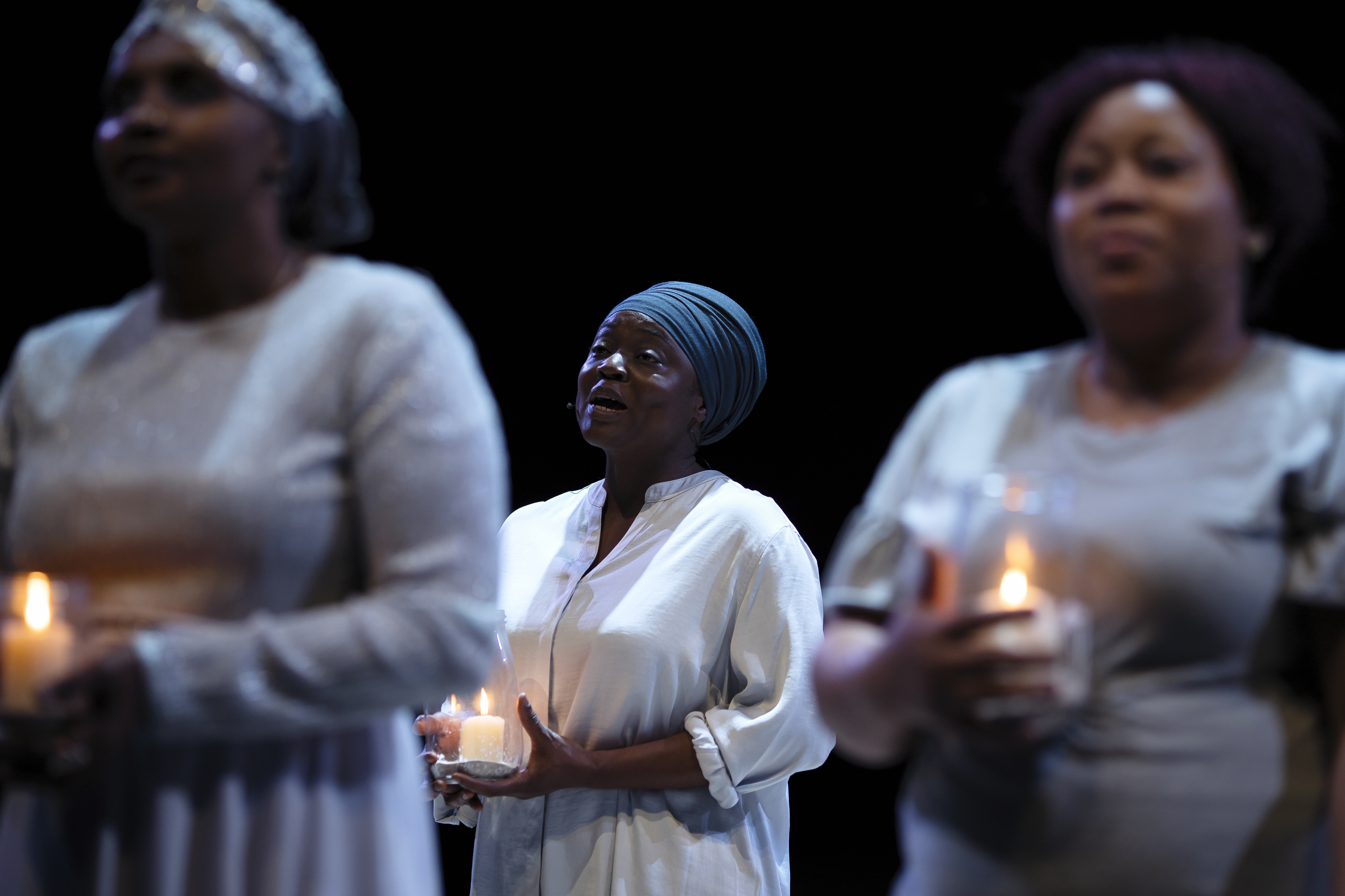 NT PUBLIC ACTS Cast in Pericles at National Theatre (c) James Bellorini 8